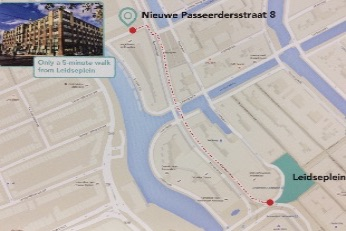 Find your way to Amsterdam Tourist Doctors, Medical center in Amsterdam city center, Nieuwe Passeerdersstraat 8 Amsterdam