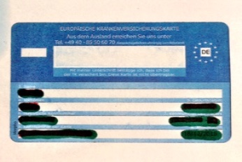 Amsterdam Tourist Doctors European Health Insurance Card EHIC